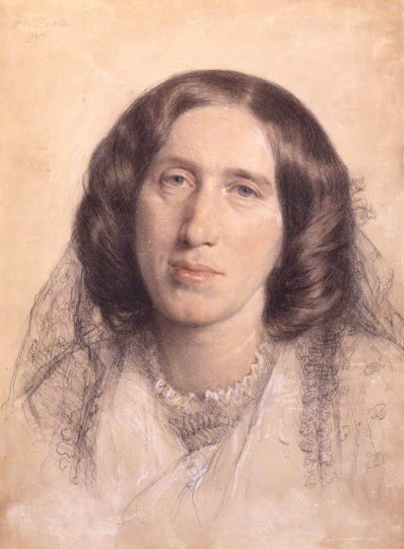 George Eliot (National Portrait Gallery)